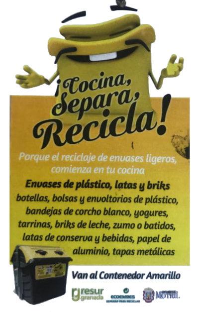 Cocina Separa y Recicla
