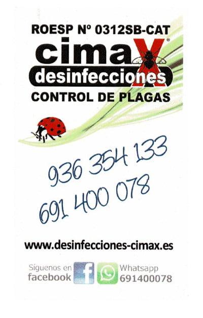 Desinfecciones Cimax